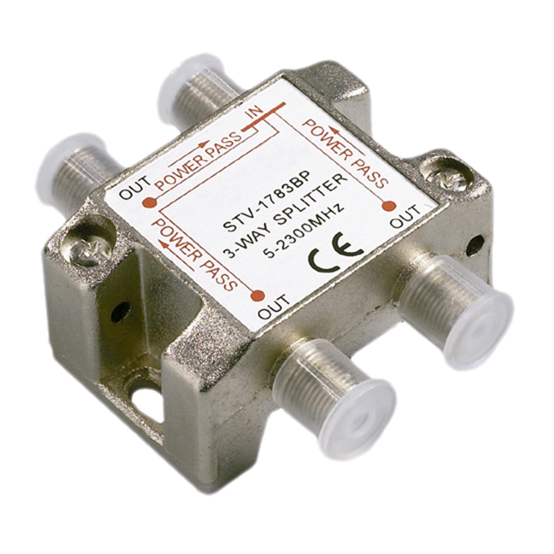 r 233 partiteur satellite d int 233 rieur 3 directions connectique quot f quot passage cc permet de