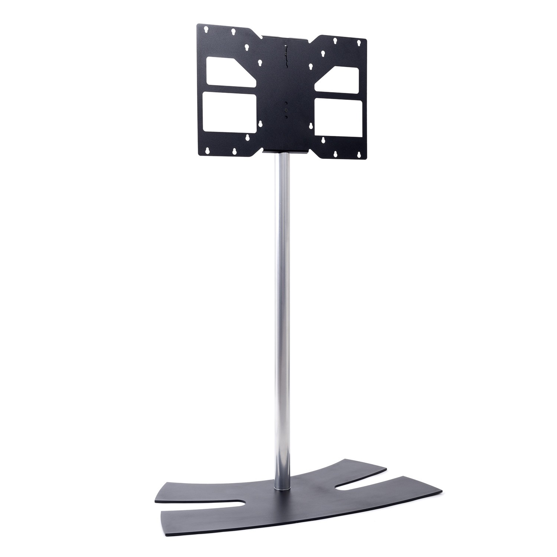 Lux Up 1600xl Noir Pied Tv Universel 1600 Noir Une Autre Fa On  # Meuble Tv Sur Pied