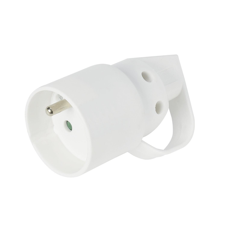 prise electrique 16a 2 p les terre femelle anneau a monter ref 728741 la connectique. Black Bedroom Furniture Sets. Home Design Ideas