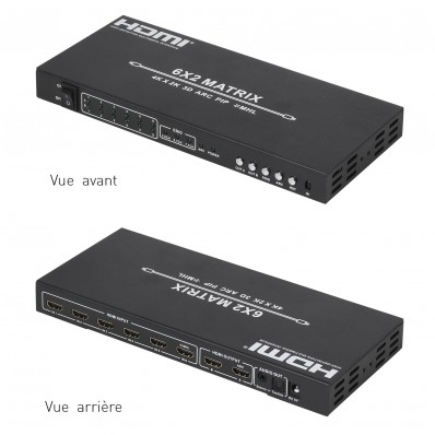 MATRICE HDMI + EXTRACTION DU SON