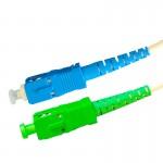 Jarretières optiques SC-APC mâle / SC-UPC mâle