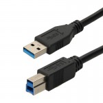 Cordons USB A mâle / USB B mâle