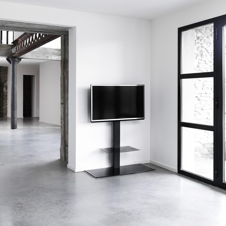 Studio 1000 Colonne Orientable Avec Tag Re Pour Cran De 30 55  # Meuble Tv Pour Studio