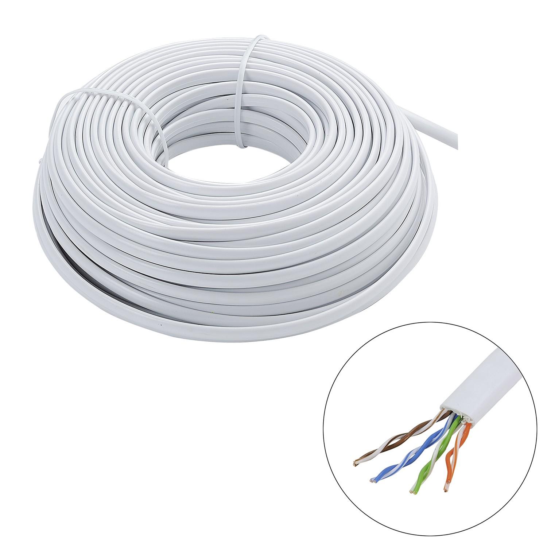 bobine de cable ethernet ethernet rj45 cat 5e u utp. Black Bedroom Furniture Sets. Home Design Ideas