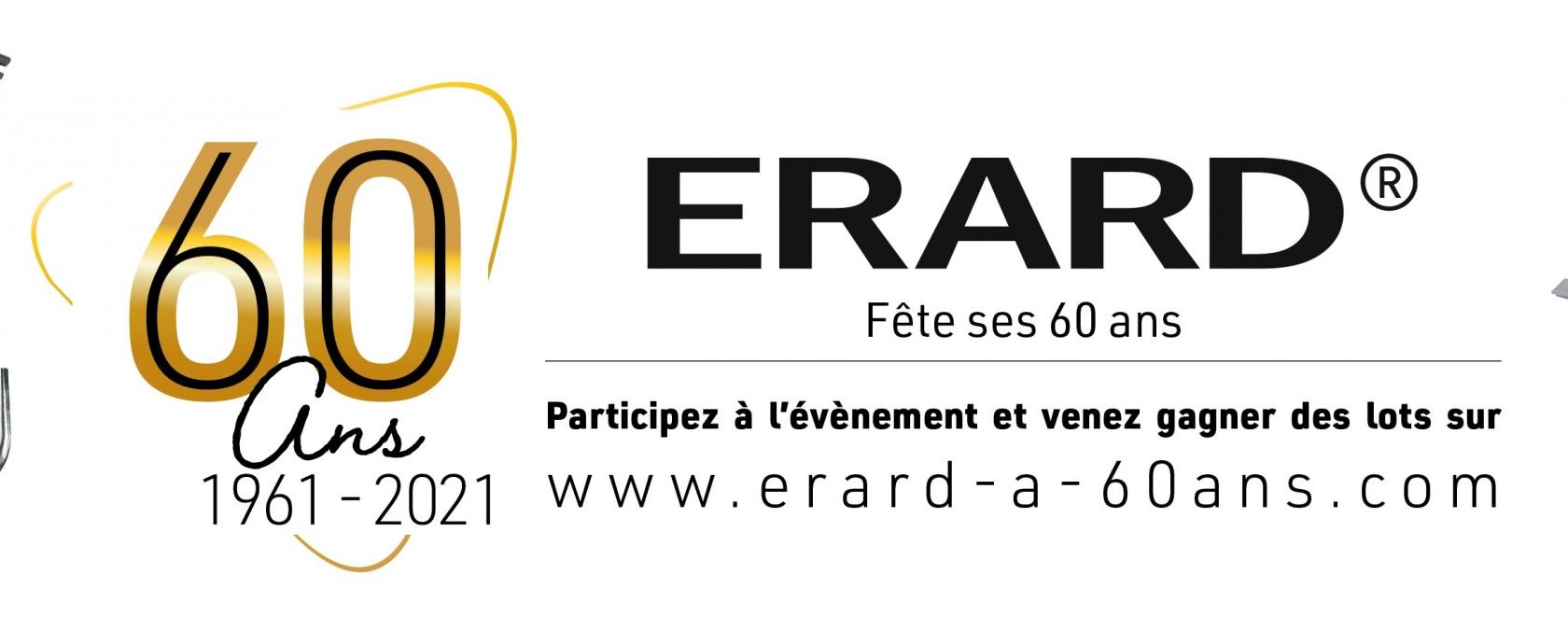 Erard a 60 ans