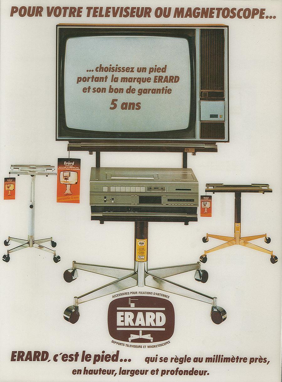 publicité Erard